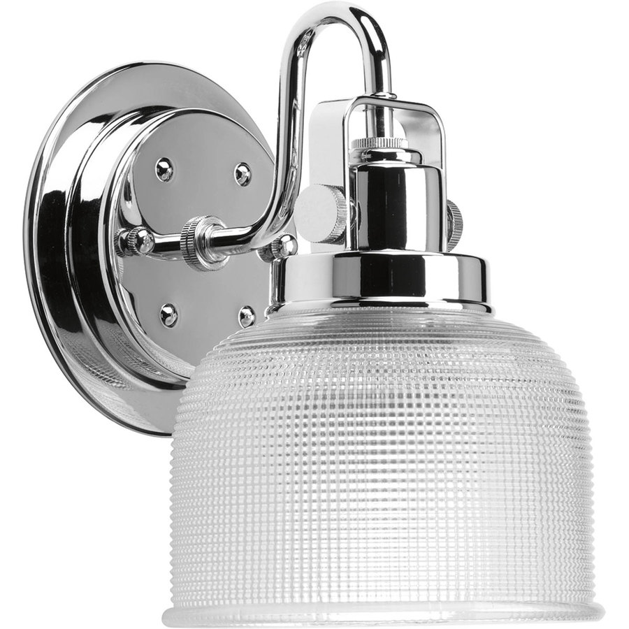 Shop Progress Lighting Archie Chrome Bathroom Vanity Light At