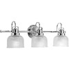 Progress Lighting 3-Light Archie Bathroom Vanity Light