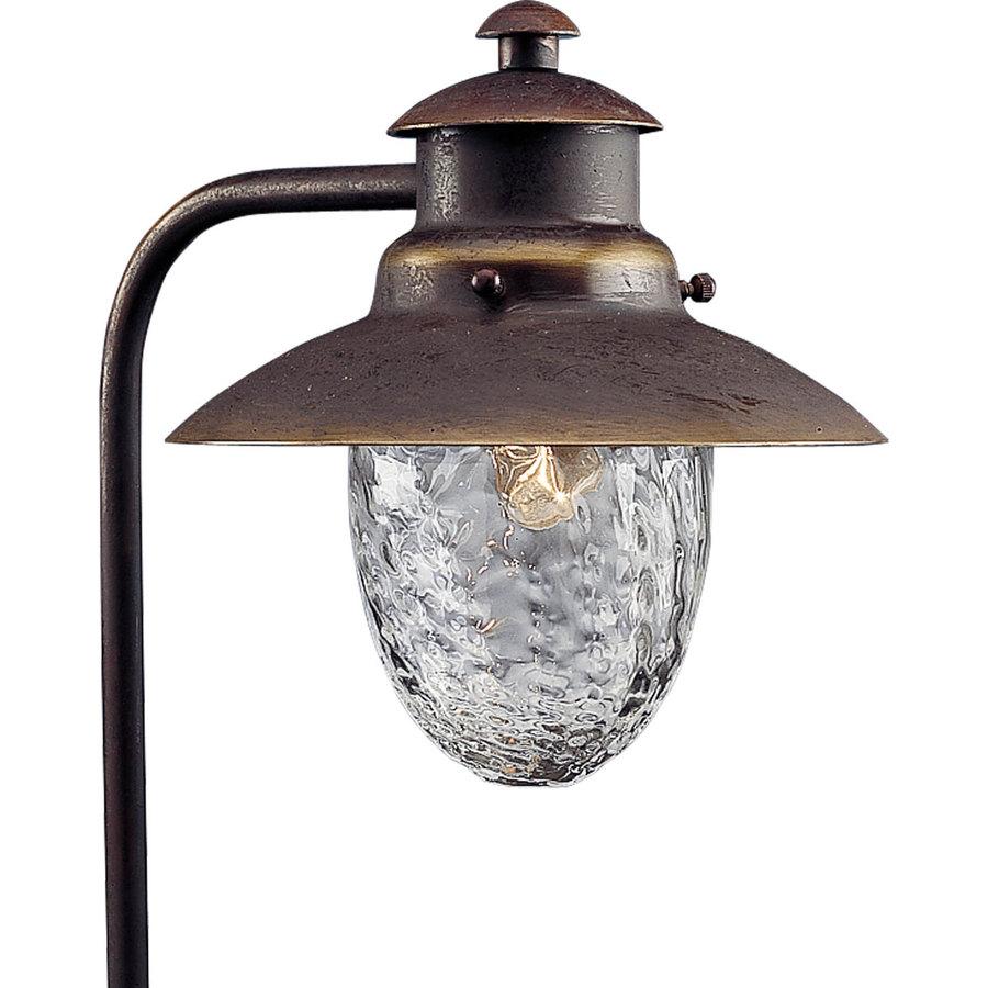 progress lighting antique bronze low voltage path light at. Black Bedroom Furniture Sets. Home Design Ideas