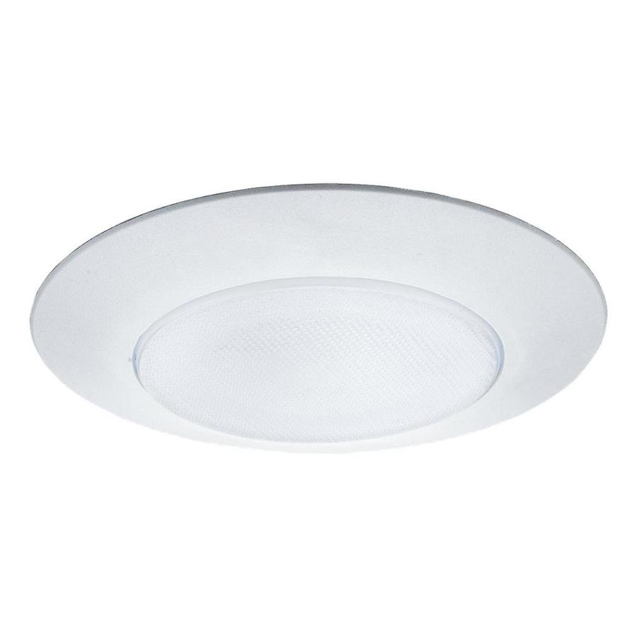 Recessed Lighting Housing For Shower : Sea gull lighting white shower recessed light trim