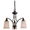 Sea Gull Lighting 3-Light Warwick Vintage Bronze Chandelier