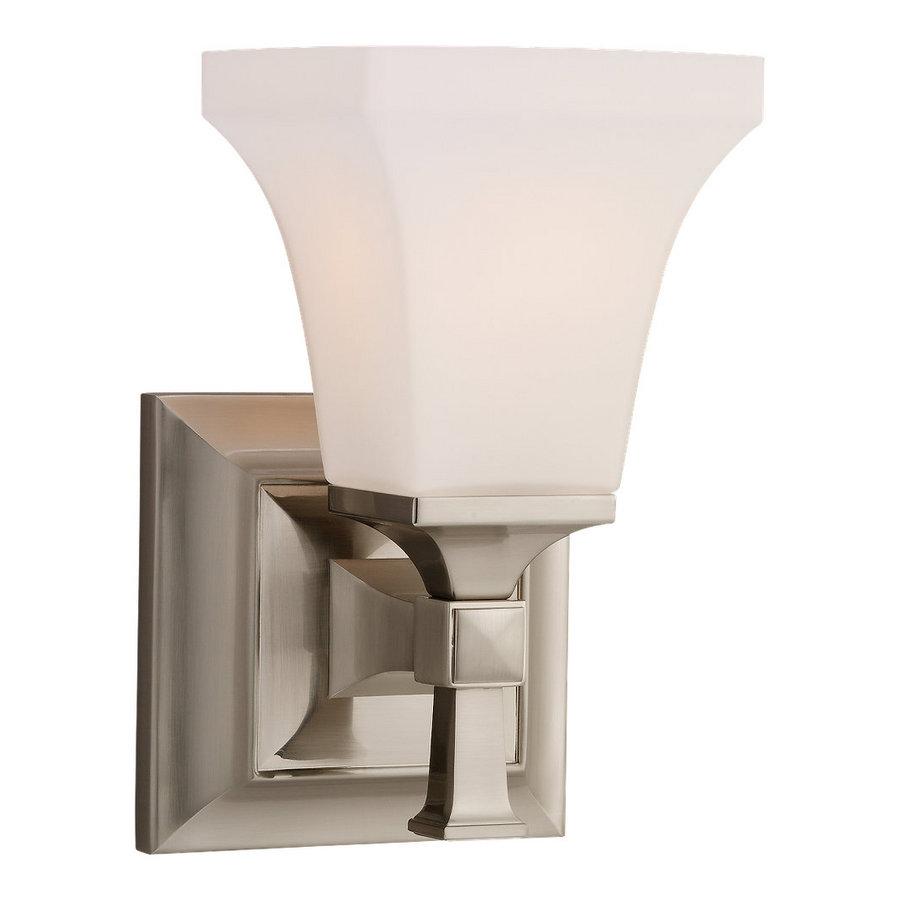 Shop Sea Gull Lighting Melody Brushed Nickel Bathroom Vanity Light At