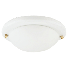 Sea Gull Lighting White Finish Ceiling Fan Light Kit