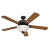 Sea Gull Lighting 52-in Quality Max Plus Ceiling Fan with Light Kit ENERGY STAR