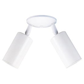 Sea Gull Lighting 3-1/2-in White Flush Mount