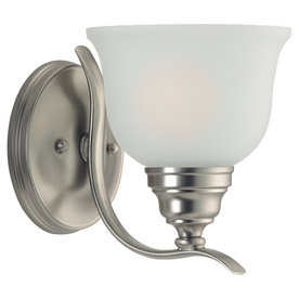 Sea Gull Lighting Wheaton Brushed Nickel Bathroom Vanity Light