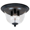 Sea Gull Lighting 11-1/2-in Manor House Flush Mount