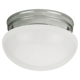 Sea Gull Lighting 7-1/2-in Brushed Nickel Flush Mount