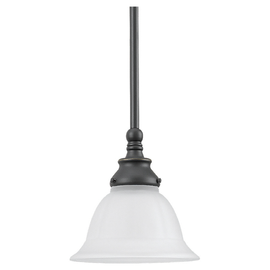 Shop Sea Gull Lighting 8 In W Kitchen Island Light With Shade At