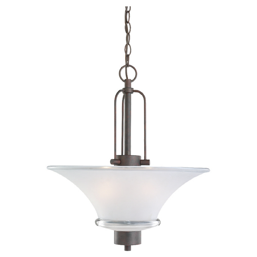 Shop Sea Gull Lighting 18 In W Kitchen Island Light With Shade At