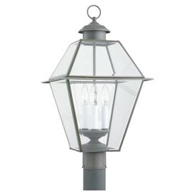 Sea Gull Lighting 3-Light Colony Post Outdoor