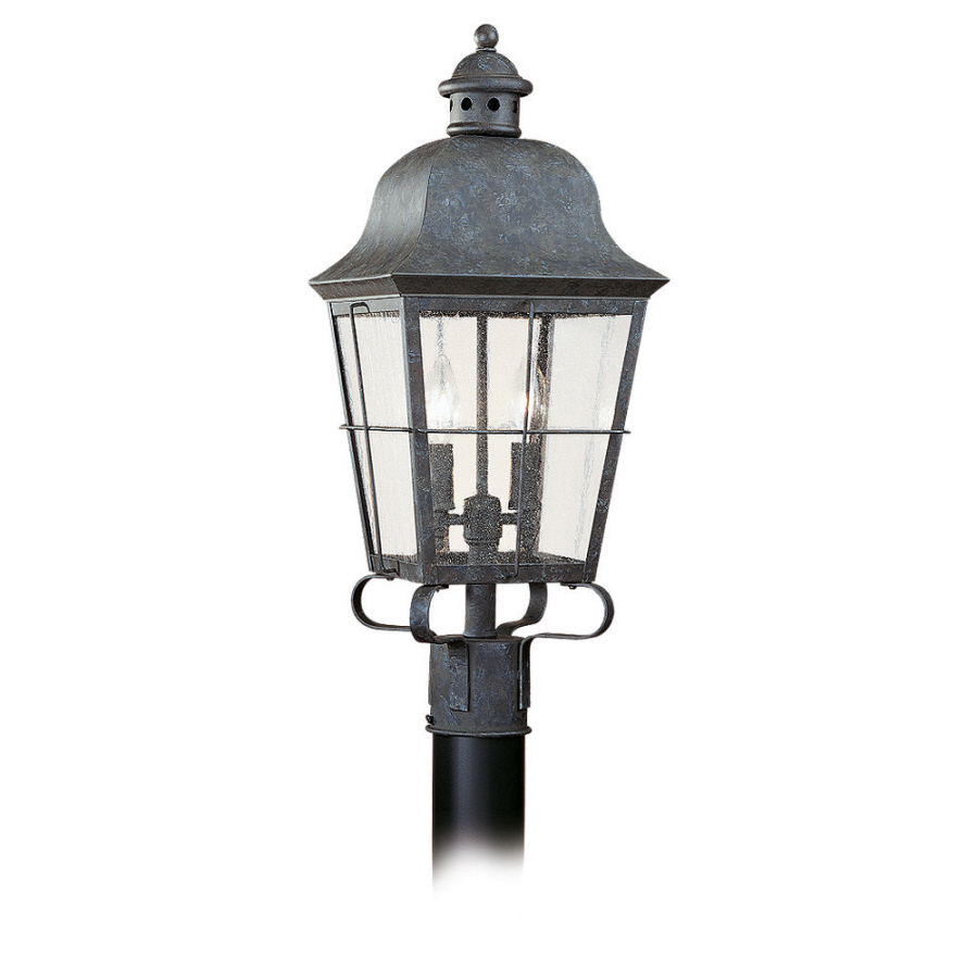 Shop sea gull lighting 2 light chatham colonial outdoor for Outdoor colonial lighting