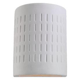 Sea Gull Lighting 10-in H Unfinish Ceramic Dark Sky Outdoor Wall Light