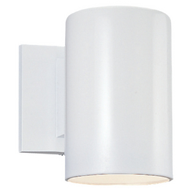 Sea Gull Lighting 9-in H White Dark Sky Outdoor Wall Light