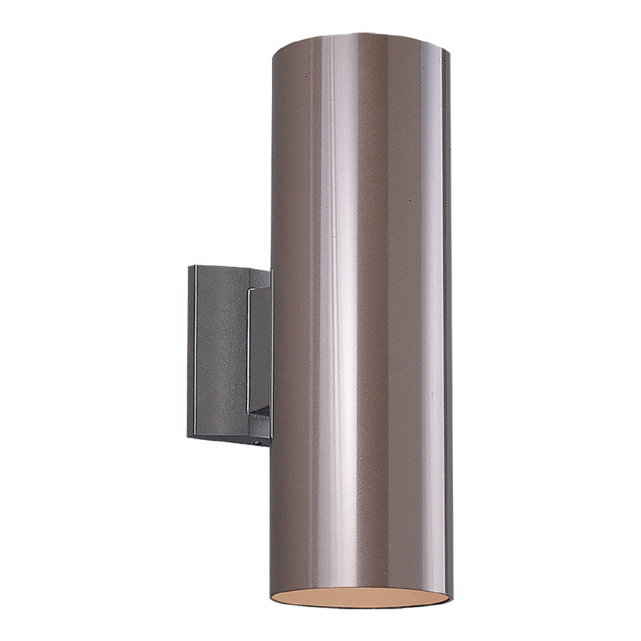 shop sea gull lighting 15 in h bronze outdoor wall light at. Black Bedroom Furniture Sets. Home Design Ideas