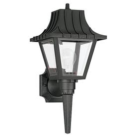 Sea Gull Lighting 17.5-in H Clear Outdoor Wall Light
