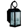 Sea Gull Lighting 17-3/4-in Obsidian Mist Outdoor Wall Light