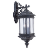 Sea Gull Lighting 25-1/2-in Black Outdoor Wall Light