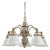 Sea Gull Lighting 5-Light Canterbury Brushed Nickel Chandelier