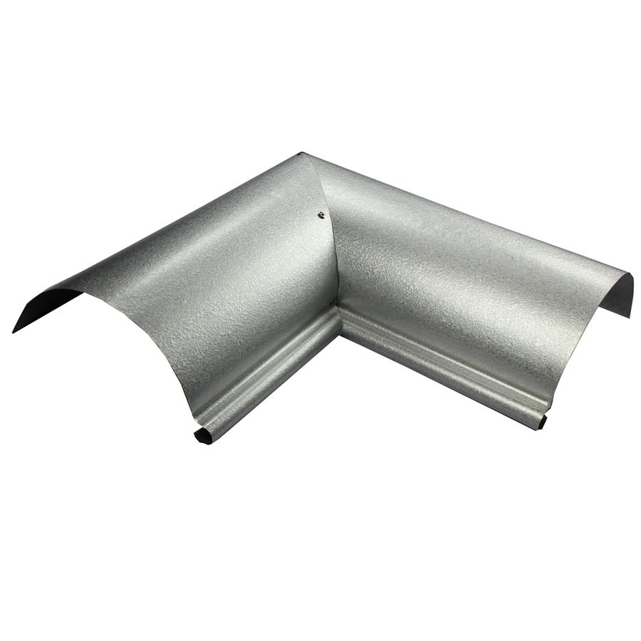 Shop Spectra Half Round Metal Gutter Inside Corner at ...