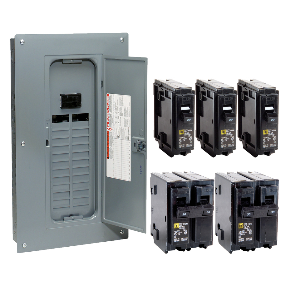 30 amp disconnect breaker box wiring diagram #7 how to install a circuit breaker panel 200 Amp Service Wire Size Battery Switch Wiring Diagram