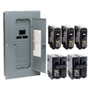 Square D 24-Circuit 24-Space 100-Amp Main Breaker Load Center (Value Pack)