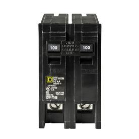 Square D Homeline 100-Amp 2-Pole Circuit Breaker