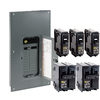 Square D 40-Circuit 20-Space 200-Amp Main Breaker Load Center (Value Pack)