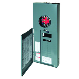 Square D 40-Circuit 20-Space 200-Amp Main Breaker Load Center