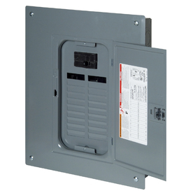 Square D 20-Circuit 20-Space 100-Amp Main Breaker Load Center