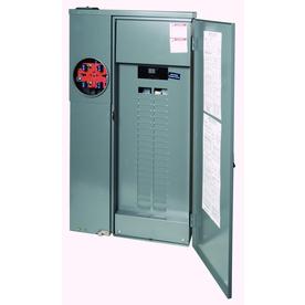 Square D 40-Circuit 40-Space 200 Amp Main Breaker Load Center
