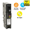 Square D Homeline 20-Amp 1-Pole Dual Function AFCI/GFCI Circuit Breaker