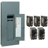 Square D 42-Circuit 42-Space 200-Amp Main Breaker Load Center (Value Pack)