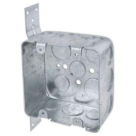 STEEL CITY 30.3-cu in 2-Gang Metal Old Work Wall Electrical Box