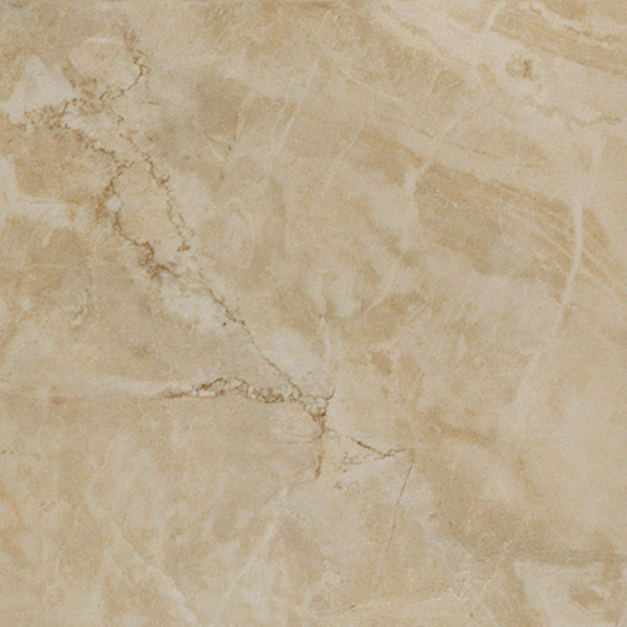 12 In X 12 In Augustus Ivory Glazed Porcelain Floor Tile At