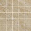 12-in x 12-in Augustus Ivory Glazed Porcelain Mosaic Floor Tile
