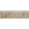 Style Selections 3-in x 12-in Augustus Smoke Glazed Porcelain Bullnose Tile