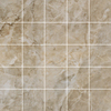 Style Selections 12-in x 12-in Augustus Smoke Glazed Porcelain Mosaic Floor Tile