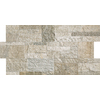 Style Selections Rockstyle Silver Porcelain Wall Tile (Common: 12-in x 24-in; Actual: 11.73-in x 22.24-in)