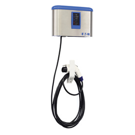 Eaton RLC EVSE Level 2 30-Amp Wall Mounted Single Electric Car Charger