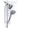 HotelSpa 4-in Chrome Showerheads with Hand Showers