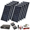Sunforce 1300-Watt Monocrystalline Solar Kit