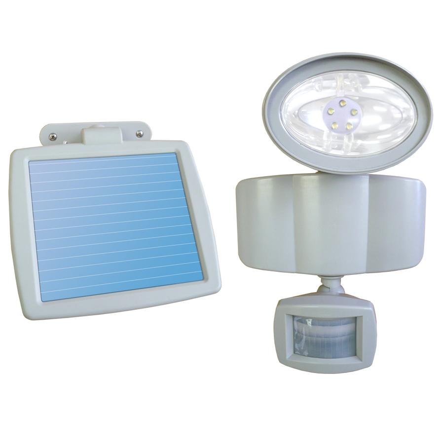 shop sunforce white solar powered led path lights at