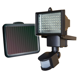 shop sunforce black solar powered led path light at