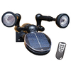 Sunforce Black Solar-Powered LED SpotLight