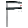 BESSEY Bessey Deep Reach CDS Series Malleable Cast Bar Clamp, 24-Inch Capacity 12-Inch Throat Depth
