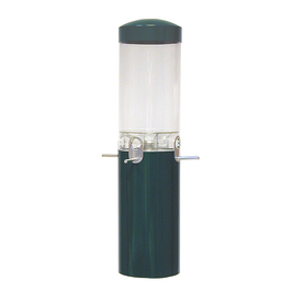 Backyard Nature Products Plastic Squirrel-Resistant Tube Bird Feeder