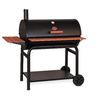 Char-Griller 36-in Barrel Charcoal Grill