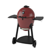 Char-Griller AKORN 20-in Red-Silver Kamado Charcoal Grill
