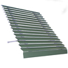Americana Building Products 30-in Wide x 25-in Projection Solid Open Slope Low Eave Window Awning
